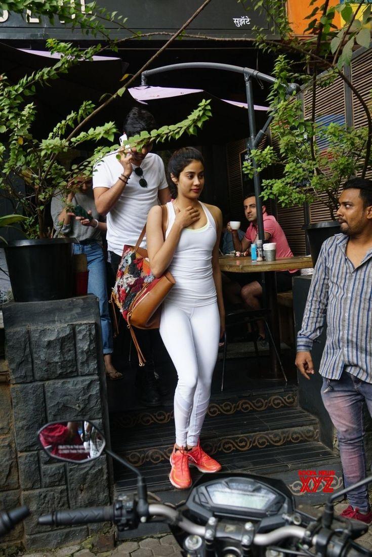 Mumbai Janhvi Kapoor seen at a restaurant Social News