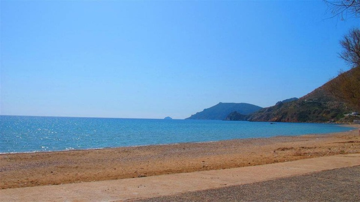 Komi beach (Chios, Greece)