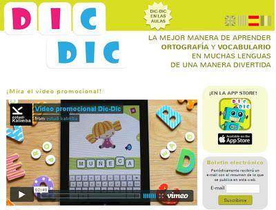 DIC DIC - Para aprender el vocabulario y la ortografía en diferentes lenguas