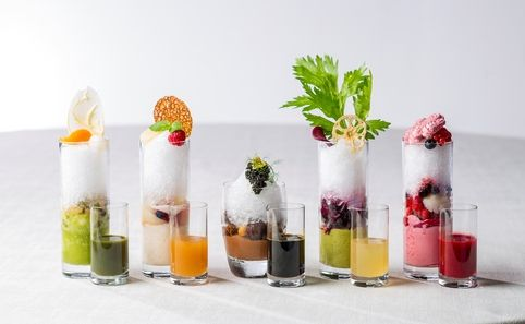 Kakigori Afternoon Tea - The Dining Room - Time Out Tokyo - THIS LOOKS GREAT-IN SHINAGAWA, TOKYO