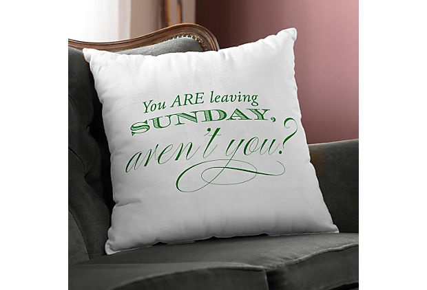 One Kings Lane - Checkerboard Ltd. - $50 Personalized Pillow Coupon