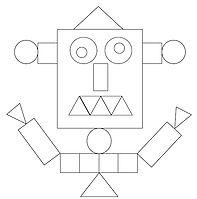 Karty z figurami ROBOT