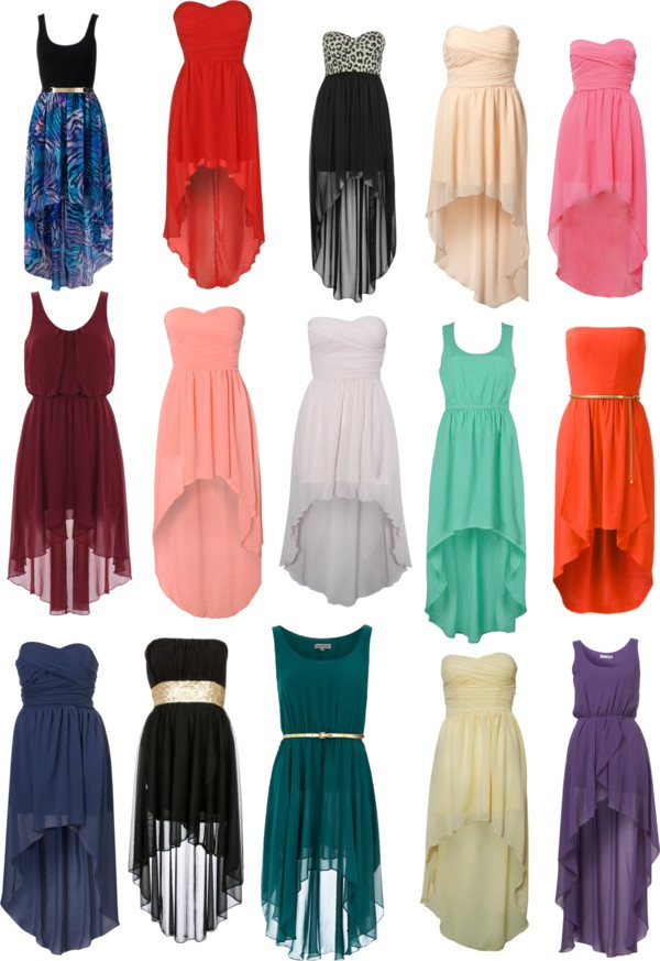 """""""Mullet Dresses/High Low (;"""" by daisy-liborio ❤ liked on Polyvore"""