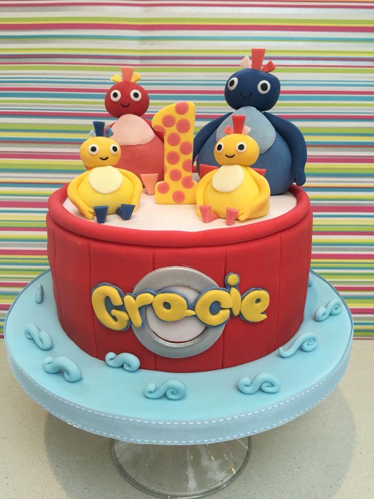 Especially for my gorgeous niece Gracie, her favourite Twirlywoos cake