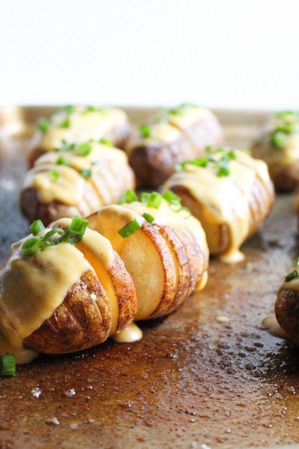 Cheesy Hasselback Kartoffeln   – Food – Make This Week