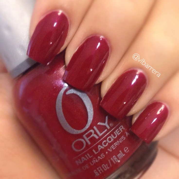 Crimson Nail Polish: 17 Best Ideas About Deep Red Nails On Pinterest