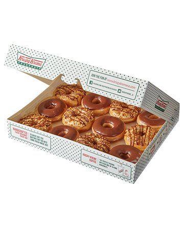 Krispy Kreme Chocolate and Peanut Butter Combo