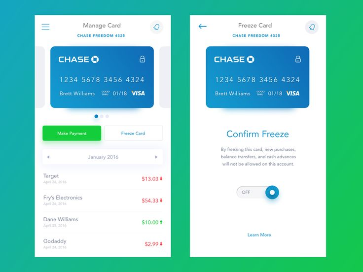 Chase Bank App