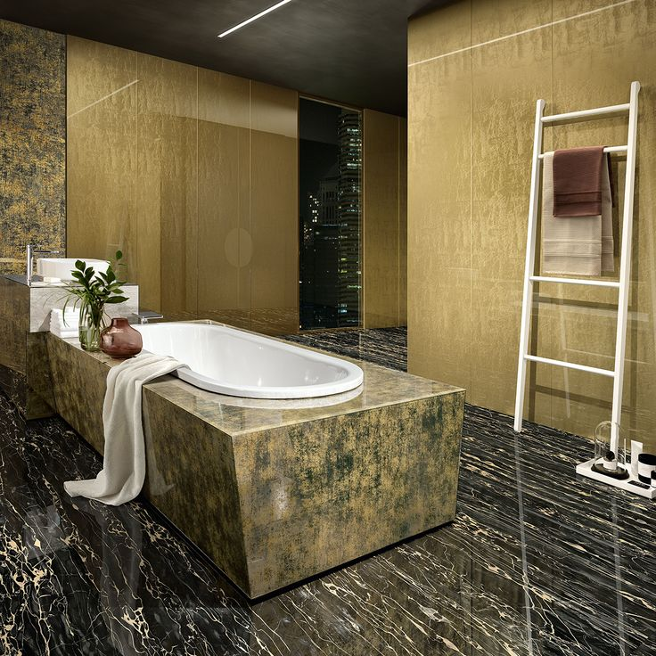 #sicis #vetrite #bathroom #luxury #glass #covering #interiordesign