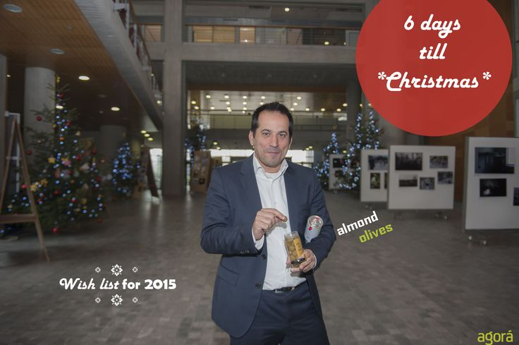 It's beginning to look a lot like Christmas! Spiros is counting down...