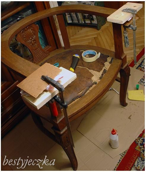 Furniture makeover, renovation, DIY