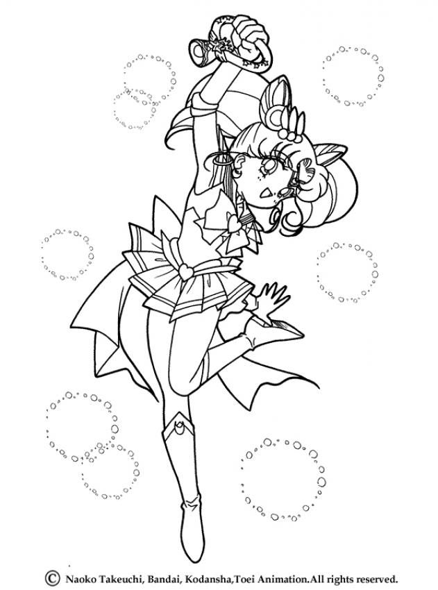 chibi moon coloring pages - photo#13