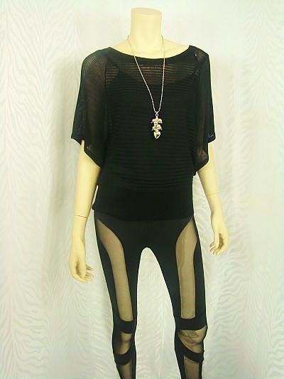 See thru lace black leggins..