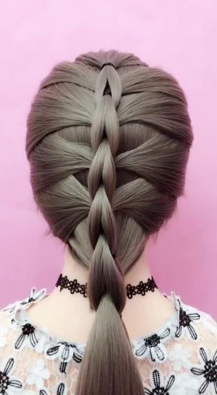 Braids Short Hair Tutorial Awesome 49+ Ideas