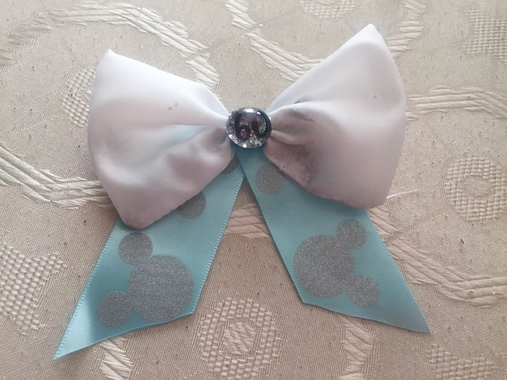 #Disney #60th #Anniversary #Bow by #ShaLucaBows #disneyinspired #disneyland