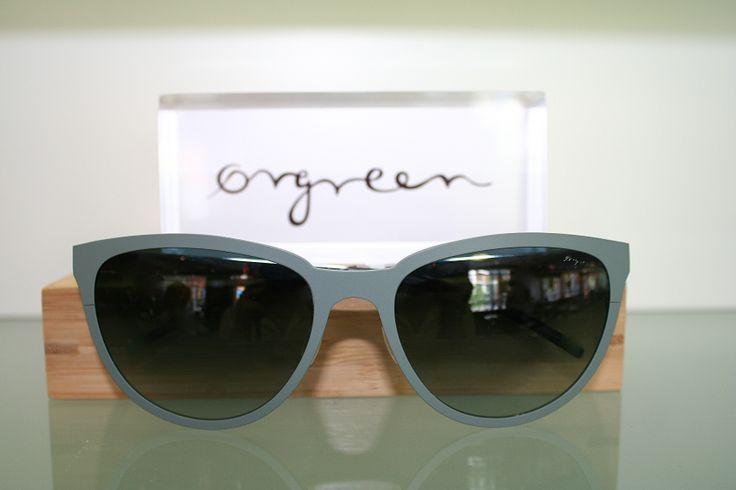 Orgreen Florence Sunglasses in Mat Jade