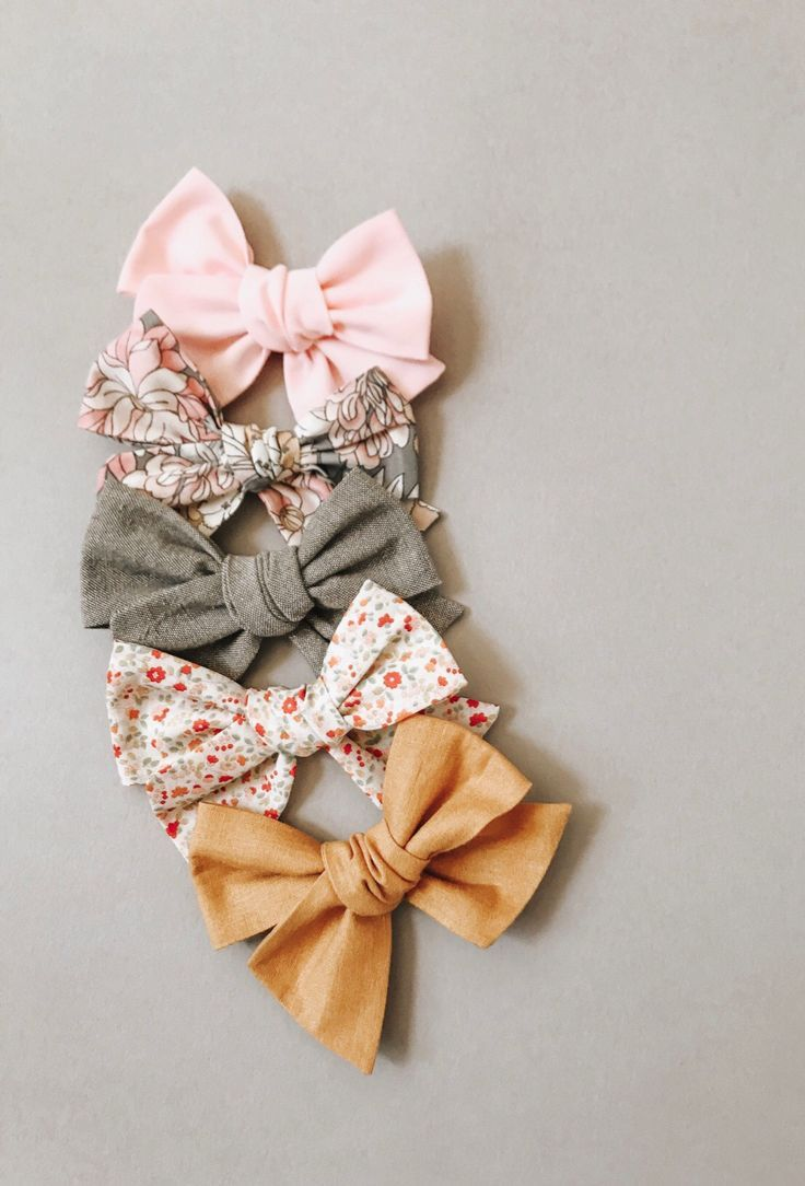 small bows baby headband girl bow baby bow velvet bows Winter bows Nylon headband Christmas bows newborn bows Set of bows