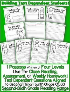 Celebrate Close Reading! Differentiated w/ 4 levels of ...