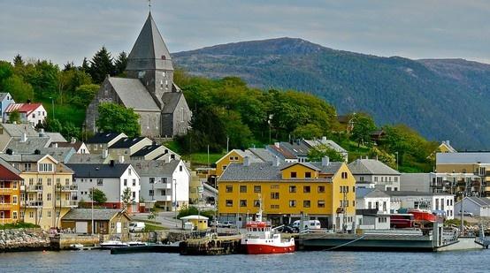 #Kristiansund, #Norway. #cruise #travel #beautiful