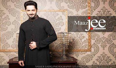 Menswear Kurta Designs For Eid 2014 By Maaz Jee