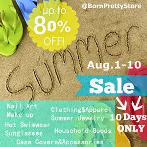 Born Pretty Store Summer Sale! For more info click here - http://bornprettystore.blogspot.com/2014/07/bps-summer-sale-start-now.html