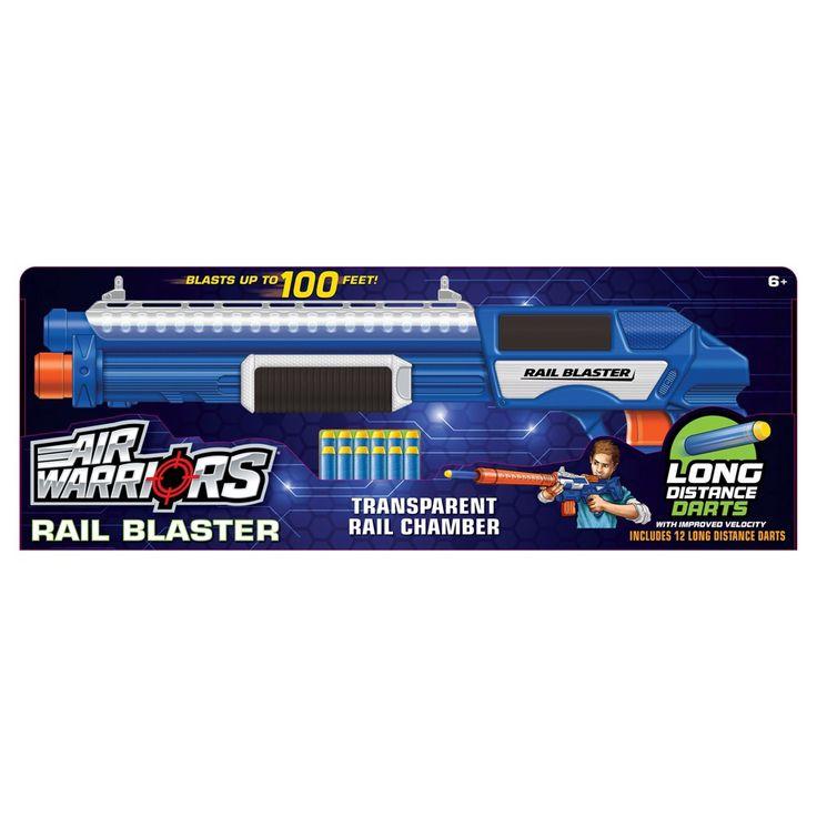 Buzz Bee Toys Air Warriors Rail Blaster
