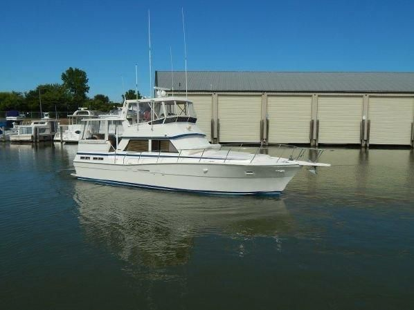 1987 Viking 44 AFTCABIN Power Boat For Sale - www.yachtworld.com
