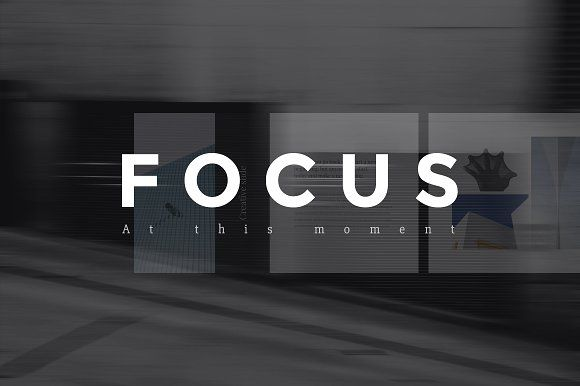 Focus Keynote Template by Entersge on @creativemarket