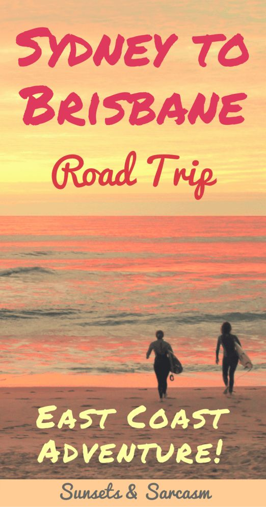 how to travel australia east coast
