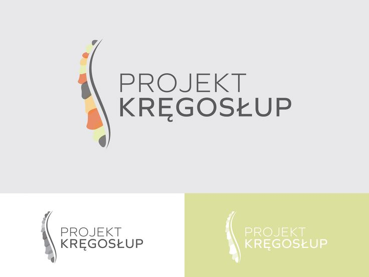 Przepis na Dizajn Logo Projekt Kręgosłup 3