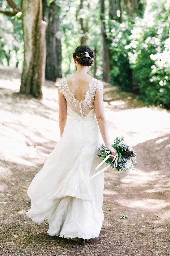 Vintage Inspired - Rose Zurzolo Couture Daylesford Convent Wedding
