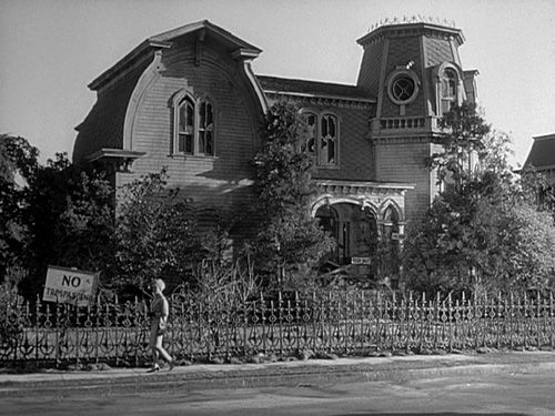 "on Universal City's ""Colonial Street"" and Beyond- The Munster house."