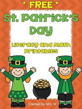 FREE! St. Patrick's Day Literacy and Math SAMPLE Printable Pack    ** Check out the full version of my St. Patrick's Day Literacy and Math Printable Pack!  **   This printable pack is a small sample of my other themed packs. Get your classroom ready for SPRING!