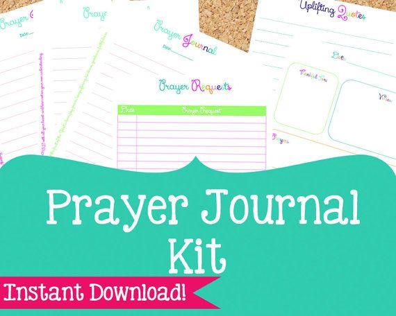 prayer journal kit