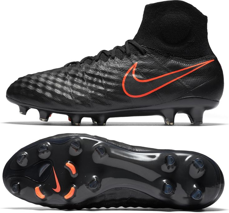 Like a thief in the night, the Pitch Black Magista Obra II will rob many defenses of their shape. Designed to help players take control of the game and change its fate, the Magista Obra II has an enhanced 3D upper combined with NikeSKIN technology for total control of the ball. The rotational studs help the boot change directions smoothly, while the bladed sides help accelerate away from pressure. Hunt for the ball in packs with the Magista Obra II now available at www.soccercorner.com!
