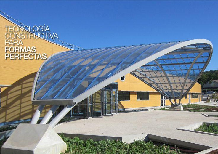 Danpalon Compacto Fachada traslúcida. Iluminación led, luz en la arquitectura, Arquitectura traslúcida Danpalon arquitectura de luz, láminas, plásticos, policarbonato, revestimientos revestimientos plásticos