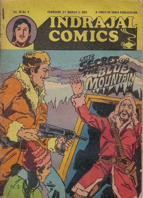 Indrajal Comics #452 - The Secret Of The Blue Mountain (Issue)