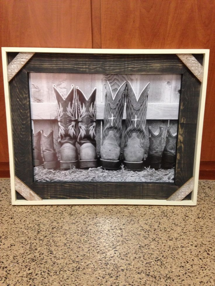 Family Cowboy Boots picture available at the Junk in the Trunk show May 2016 Booth #99
