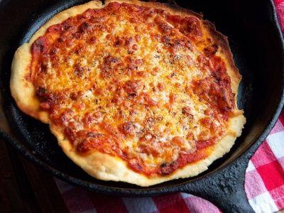Thin-Crust Stovetop Pizza Recipe