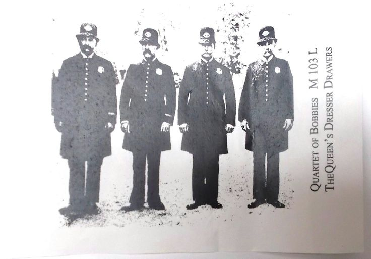 Quartet of Bobbies rubber stamp unmounted die Card making Crafting papercrafts Policemen Men male images Great Britain photo stamps UK by NoodlesNotions on Etsy