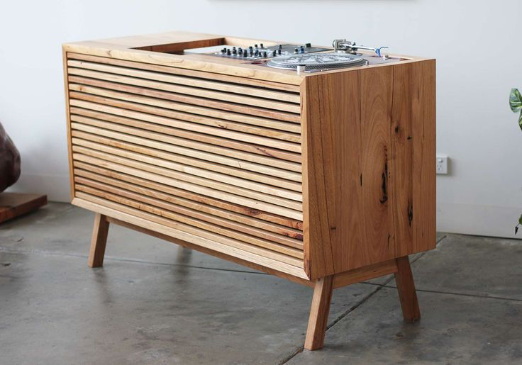 YARD Furniture can custom make you a dj console too!