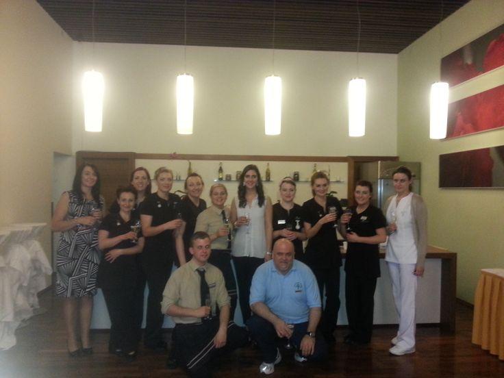 Spa management & staff
