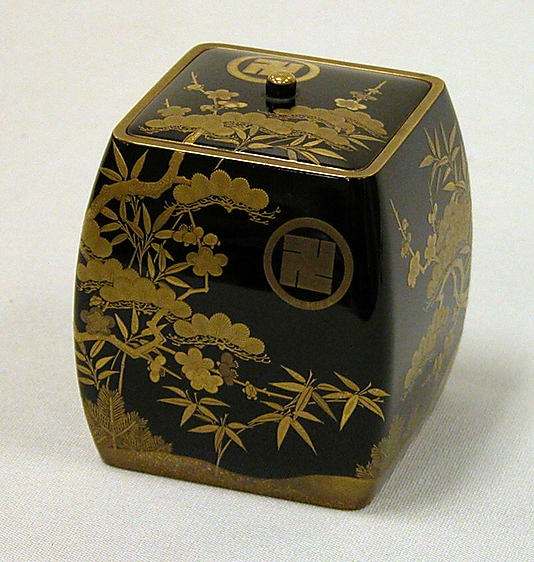 Incense Box and Receptacle for Burnt Incense,Edo period (1615–1868)