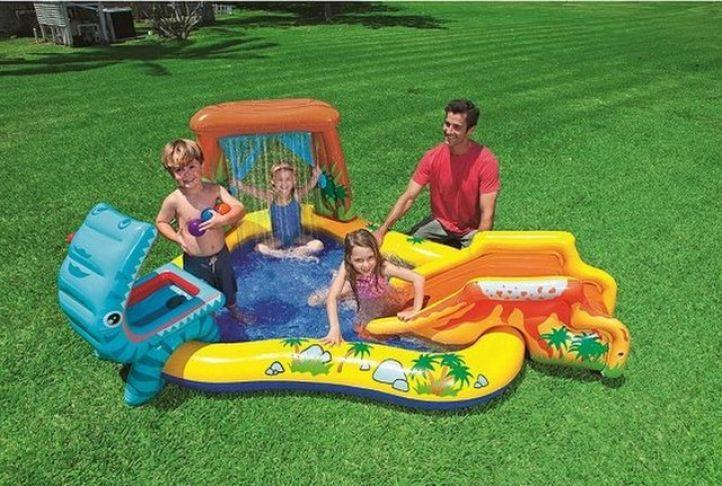 Intex Dinosaur Play Centre Paddling Pool | Absolute Home