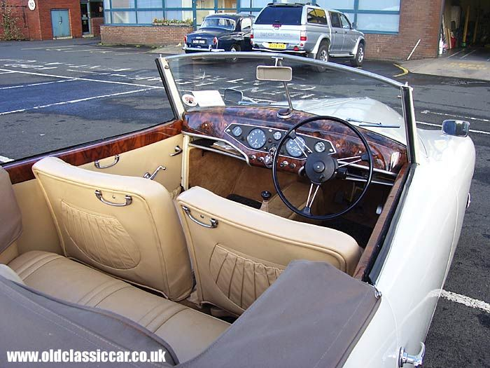 Rover Interior P3 Convertible Classic Cars Cars