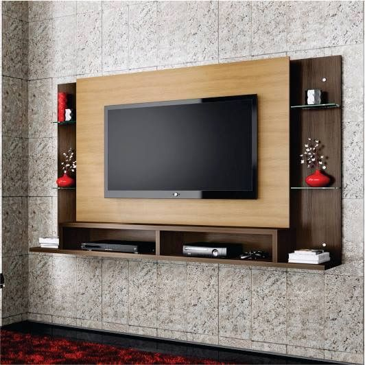 Wall unit truely on wall...