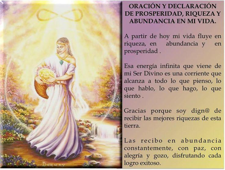 Oración de Abundancia.