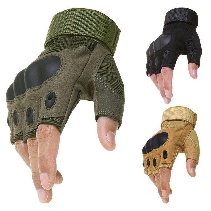 Taktische Handschuhe Armee Fahrrad Fingerhandschuhe Paintball Airsoft Motorcross