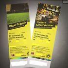 #Ticket  2 Tickets Karten Borussia Dortmund BVB  SV Darmstadt 98 Nordwest Block 66 #Ostereich