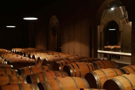 Any barrel cellar will do but this one at Pillitteri Estates Winery is pretty amazing!